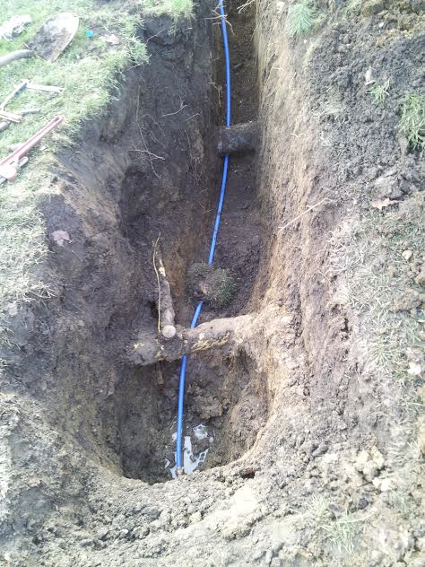 water line replacment and repair