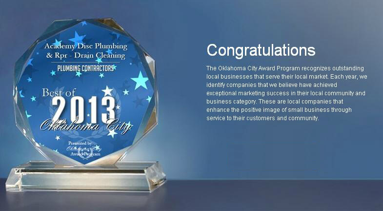 Plumbing Contractor of the year 2013